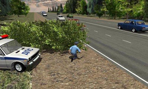 Скриншот для Traffic Cop Simulator 3D - 1
