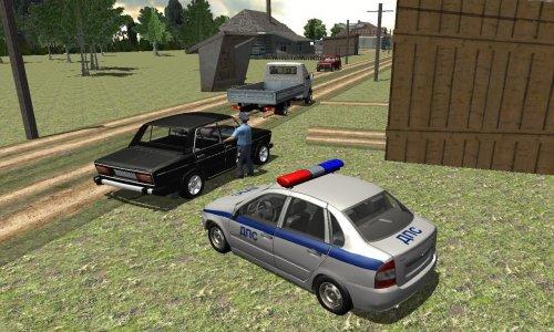 Скриншот для Traffic Cop Simulator 3D - 3