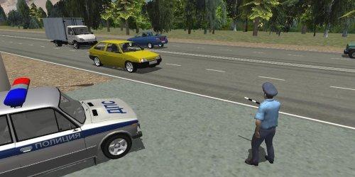 Скриншот для Traffic Cop Simulator 3D - 2