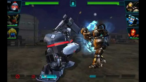 Скриншот для Ultimate Robot Fighting - 2