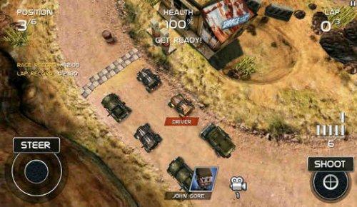 Скриншот для Death Rally - 2