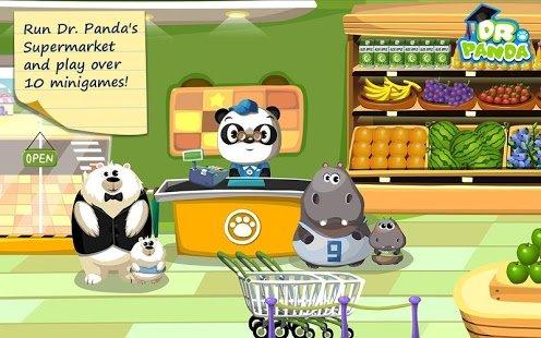 Скриншот для Супермаркет Dr. Panda - 1
