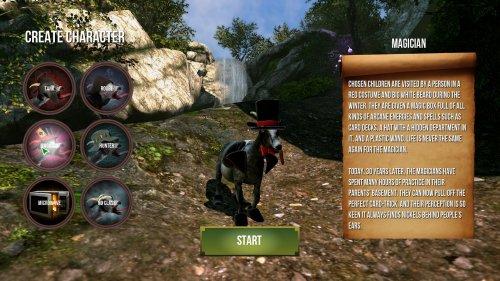 Скриншот для Goat Simulator MMO Simulator - 2