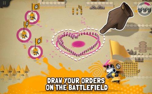 Скриншот для Tactile Wars - 2