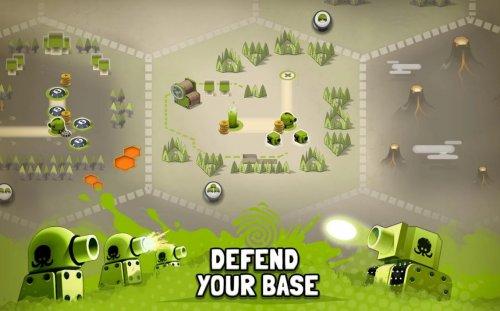 Скриншот для Tactile Wars - 3