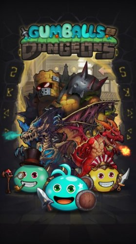 Скриншот для Gumballs & Dungeons - 2