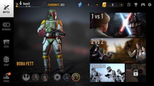 Скриншот для Звездные Войны: Арена Силы - 3