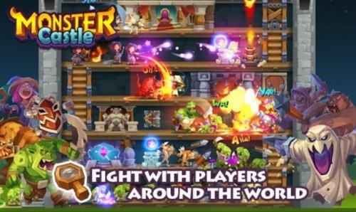 Скриншот для Monster Castle - 2