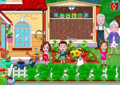 Скриншот для My Town: Grandparents - 1