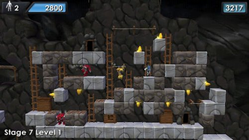 Скриншот для Lode Runner - 2