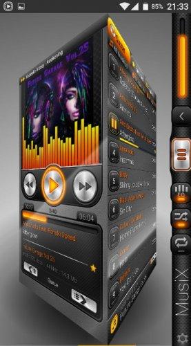 Скриншот для Musix - 2