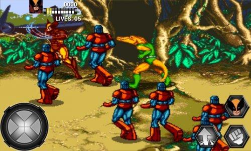 Скриншот для X-Men - 2