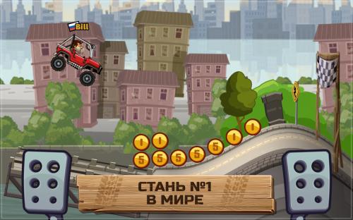 Скриншот для Climb Racing 2 - 1