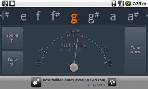 Скриншот для Guitar Tuner - 3