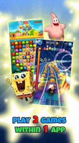 Скриншот для Губка Боб Game Station - 2