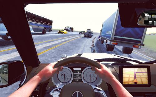 Скриншот для City Car Driving - 2