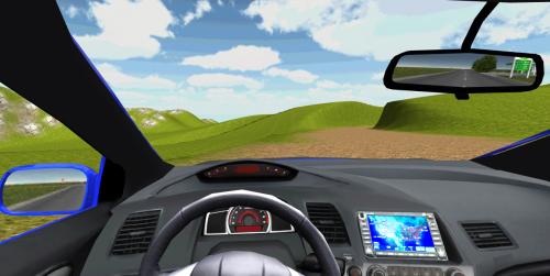 Скриншот для City Car Driving - 3