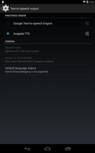 Скриншот для Acapela TTS Voices - 2