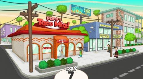 Скриншот для Papa's Taco Mia - 1