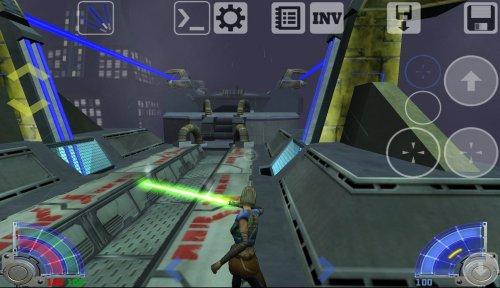 Скриншот для Star Wars: Jedy Academy - 1