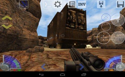 Скриншот для Star Wars: Jedy Academy - 2
