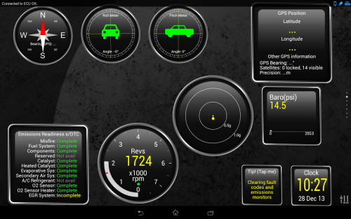 Скриншот для OBD2 - 2