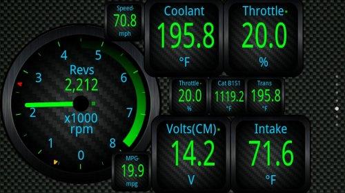 Скриншот для OBD2 - 1