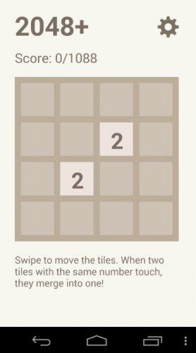 Скриншот для 2048+ - 2