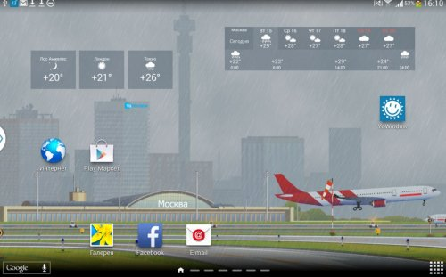 Скриншот для YoWindow Pro - 1