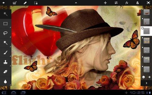 Скриншот для Adobe Photoshop Touch - 2