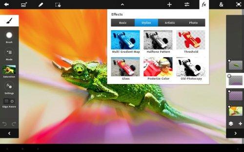 Скриншот для Adobe Photoshop Touch - 3