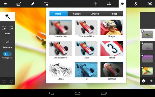 Скриншот для Adobe Photoshop Touch - 1