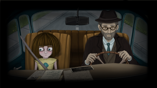 Скриншот для Fran Bow Chapter 1 - 3