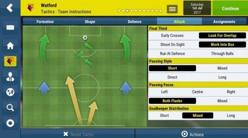 Скриншот для Football Manager Mobile 2018 - 3