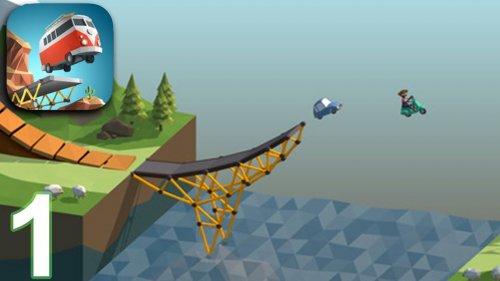 Скриншот для Poly Bridge - 1