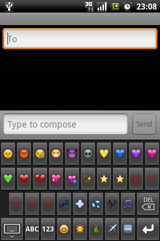 Скриншот для Emoji клавиатура - 1