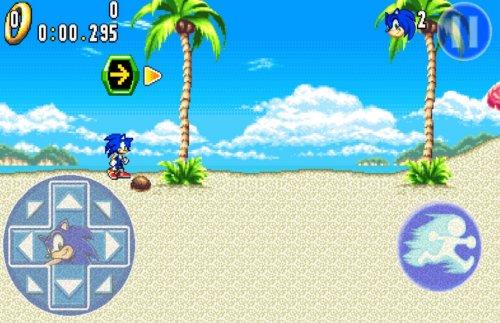 Скриншот для Sonic Advance 3 - 3
