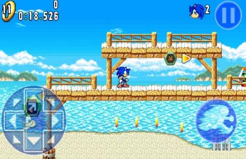 Скриншот для Sonic Advance 3 - 1