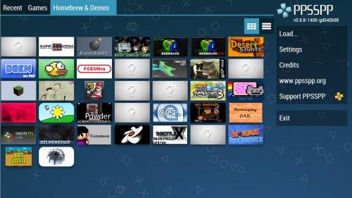 Скриншот для Эмулятор PSP - 2