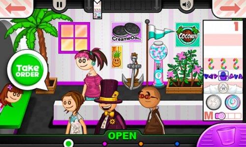 Скриншот для Papa's Freezeria To Go - 2