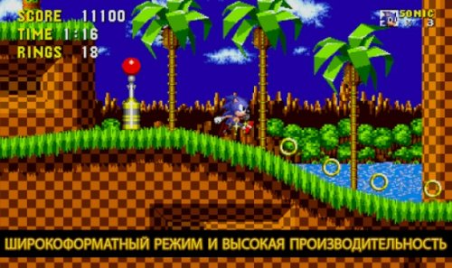 Скриншот для Sonic The Hedgehog - 1