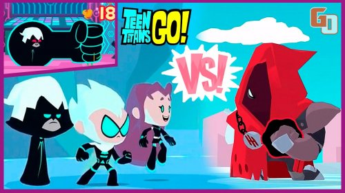Скачать teeny titans: teen titans go! На android, apk файл игры.