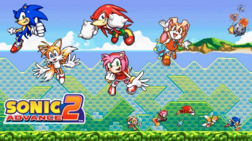 Скриншот для Sonic Advance 2 - 3