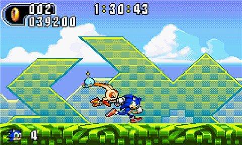 Скриншот для Sonic Advance 2 - 2