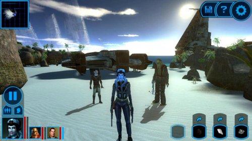 Скриншот для Star Wars - Knights of the Old Republic - 1