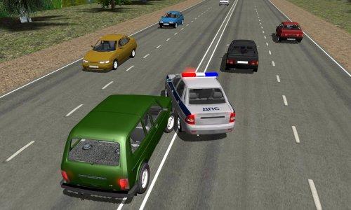 Скриншот для Симулятор Русского Гаишника 3D - 3