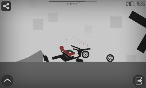 Скриншот для Stickman Dismount - 3