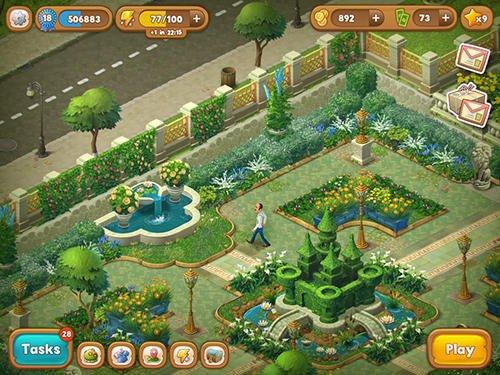 Скриншот для Gardenscapes - New Acres - 1