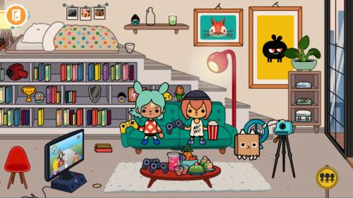 Скриншот для Toca Life: City - 1