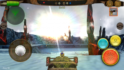 Скриншот для Гонки на выживание - 1